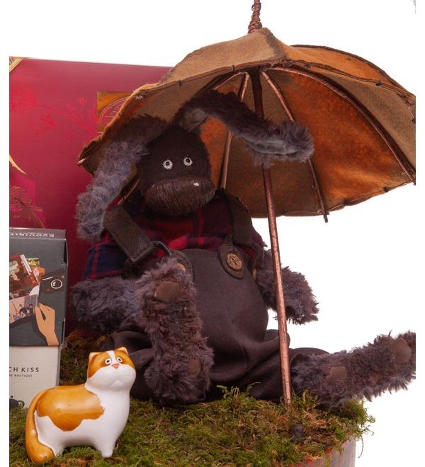 Подарочная коробка Под зонтом – фото № 2