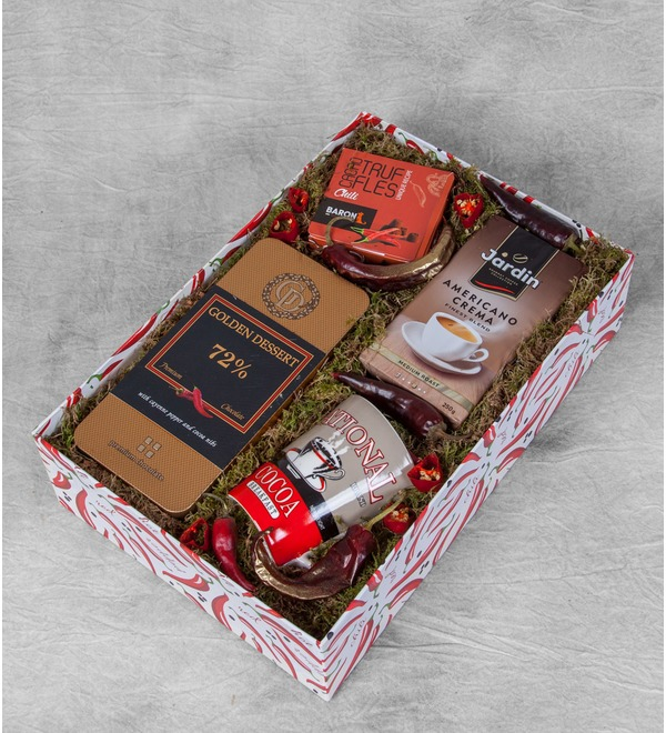 Подарочная коробка Острые ощущения – фото № 1