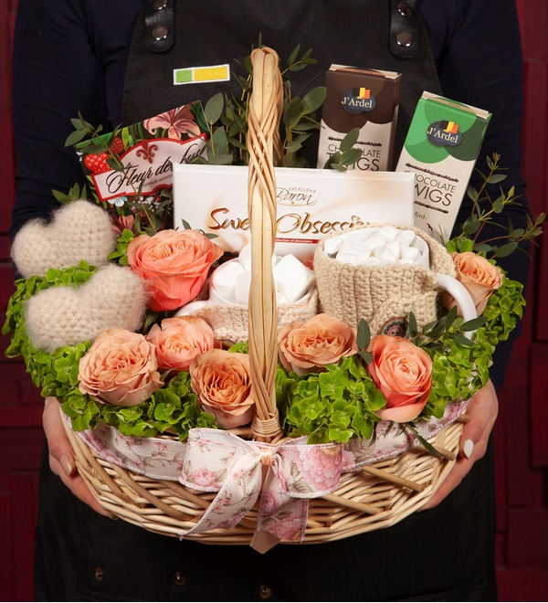 Gift basket Motive of love – photo #1