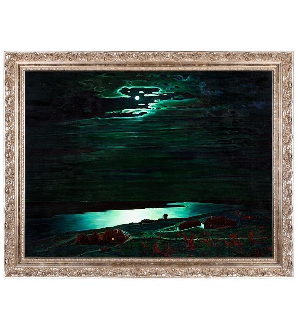Картина А.Куинджи Лунная ночь на Днепре (115х90см) – фото № 1