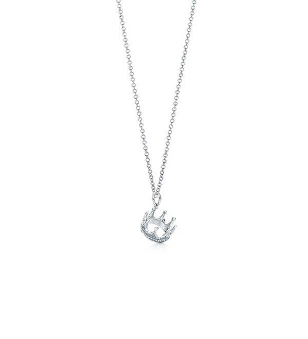 Колье Crown charm Tiffany – фото № 1