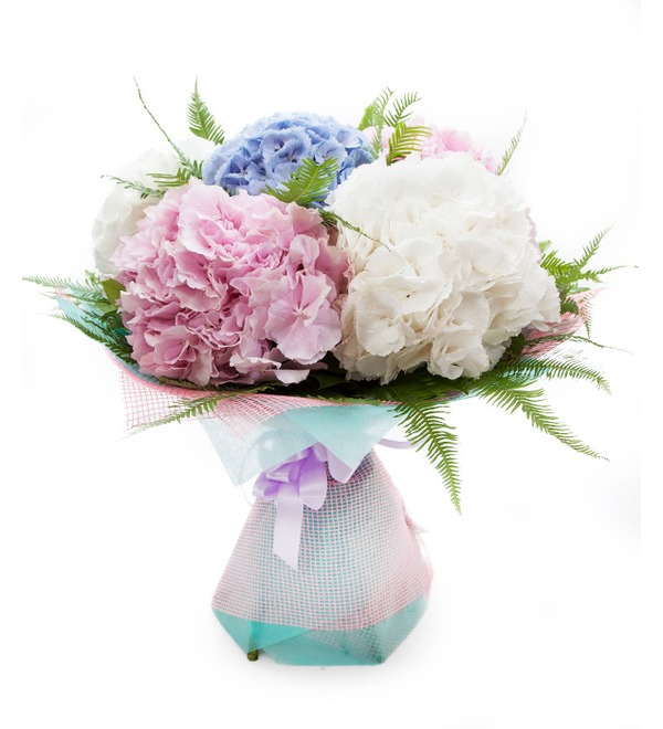 Bouquet of hydrangeas Soaring in the Clouds – photo #2