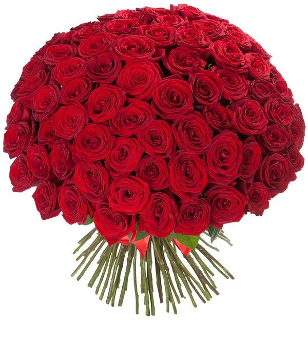 Bouquet of 101 Roses Royal gift – photo #2