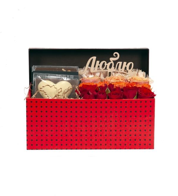 Подарочная коробка Симфония любви – фото № 3