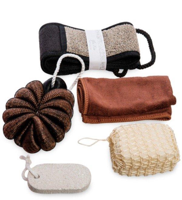 Набор для бани с небольшим полотенцем С легким паром – фото № 2