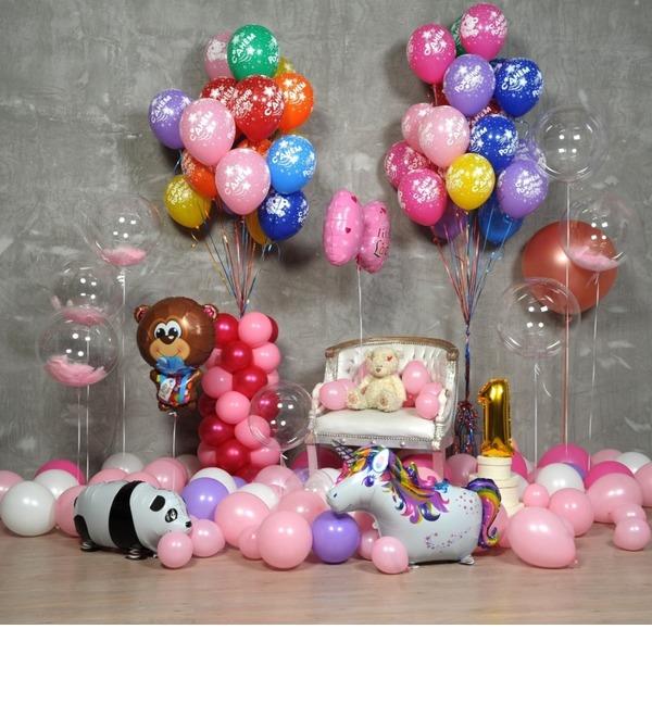 Оформление шарами Для принцессы! – фото № 1