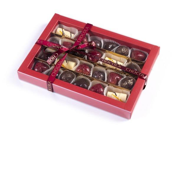 Конфеты ручной работы из бельгийского шоколада Ассорти 24 – фото № 3