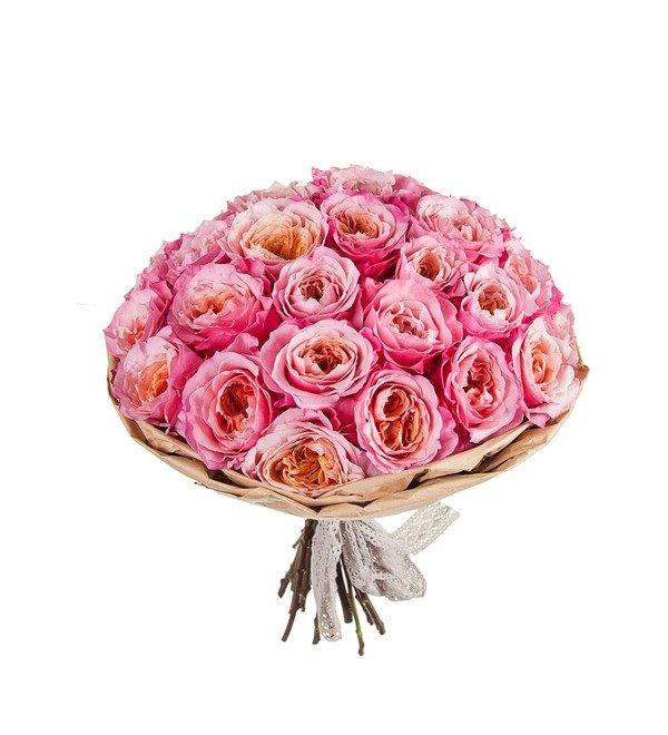 Букет-соло пионовидных роз Miyabi (15,25,35,51,75 или 101) – фото № 5
