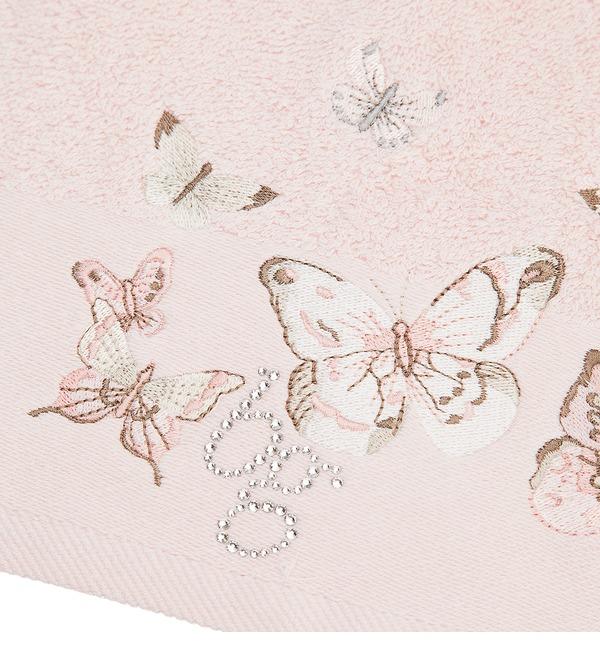 Комплект из 5 полотенец Настроение лета (розовый) – фото № 3