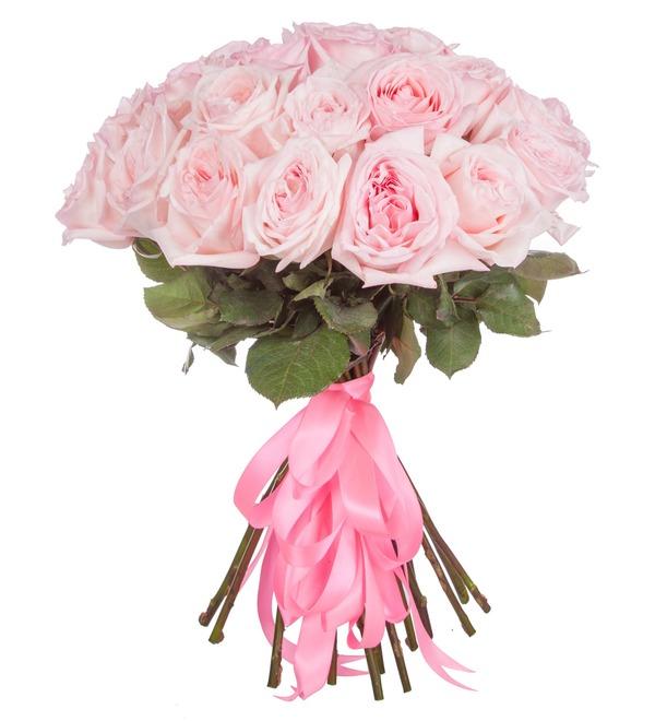 Букет ароматных пионовидных роз Pink OHara (15, 25 или 51) – фото № 4