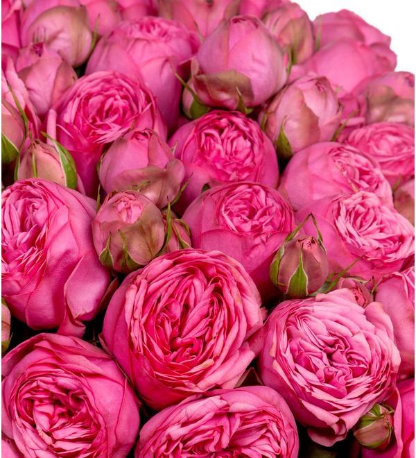 Букет из 151 пионовидной розы Pink Piano SPBWOW39 SAN – фото № 2