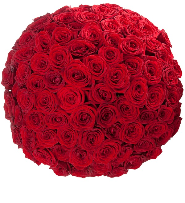 Bouquet of 101 Roses Royal gift – photo #4