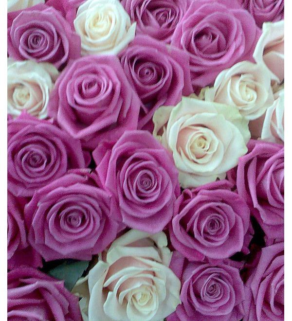 Композиция из 1001 розы Ты - моя жизнь! – фото № 3