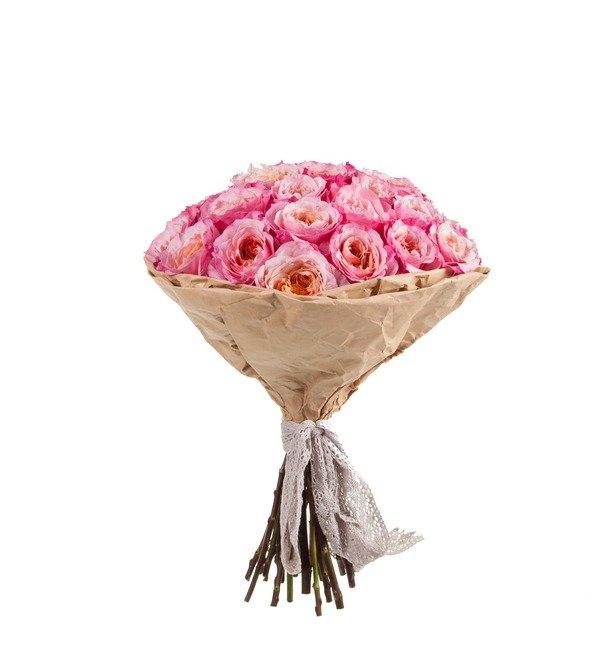 Букет-соло пионовидных роз Miyabi (15,25,35,51,75 или 101) – фото № 4