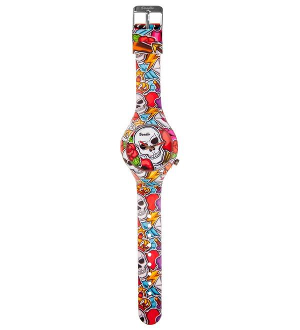 Часы Doodle Череп – фото № 2