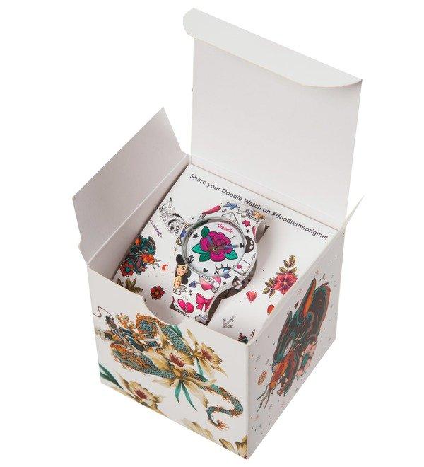 Часы Doodle Роза – фото № 4