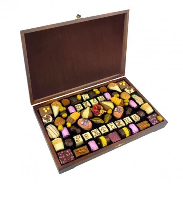 Конфеты ручной работы из бельгийского шоколада Для избранных – фото № 1
