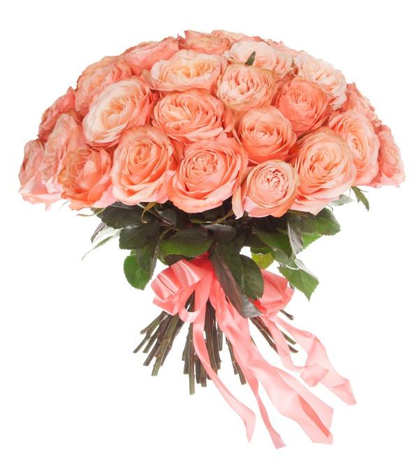 Букет эксклюзивных роз Kahala (51 или 101 роза) – фото № 4