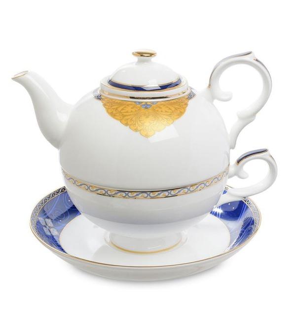 Чайный набор Золотой Палермо (Gold Palermo Pavone) – фото № 1
