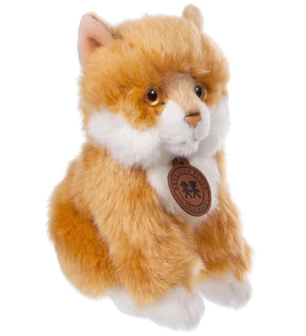 Мягкая игрушка Сибирский рыжий котёнок (15 см) – фото № 1