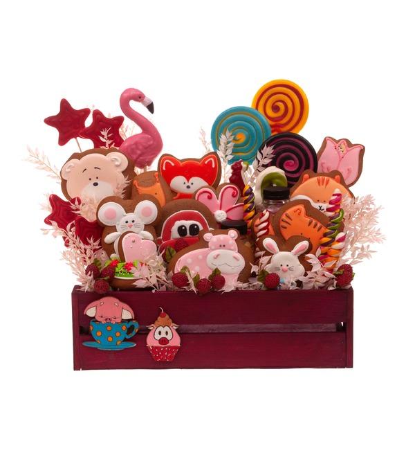 Подарочное кашпо Любимые сладости – фото № 4