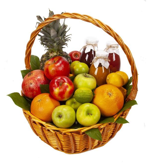 Подарочная корзина Нужные витамины – фото № 5