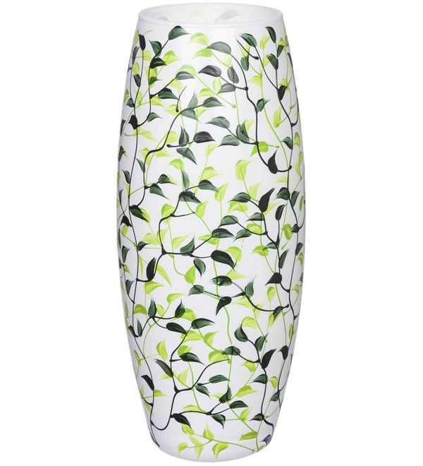 Vase decorated with Leaves – photo #1