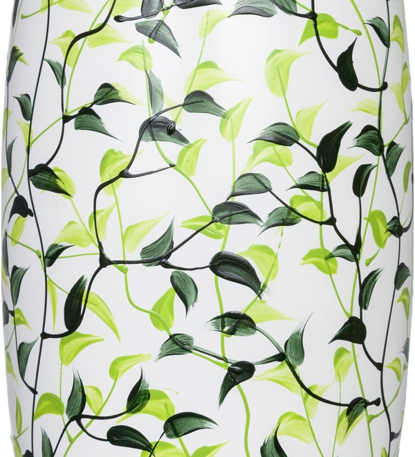 Vase decorated with Leaves – photo #2