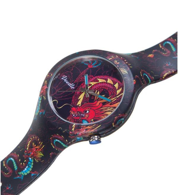 Часы Doodle Дракон – фото № 2