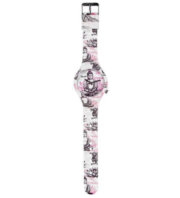 Часы Doodle Будда – фото № 3