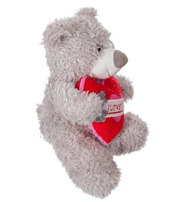 Soft toy Bear Jean (33 cm) – photo #3
