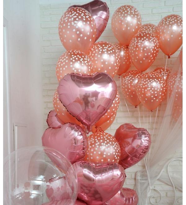 Оформление шарами в стиле Романтика! – фото № 5