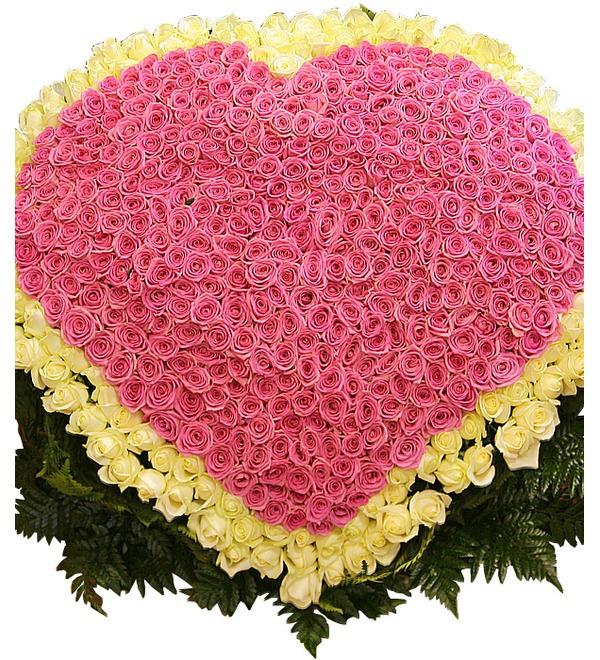 Композиция Импульс любви (501 роза) – фото № 1