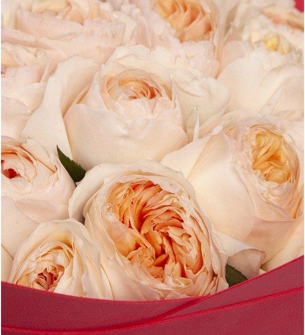 Букет-соло пионовидных роз David Austin Juliet (15,25,35,51,75 или 101) – фото № 2