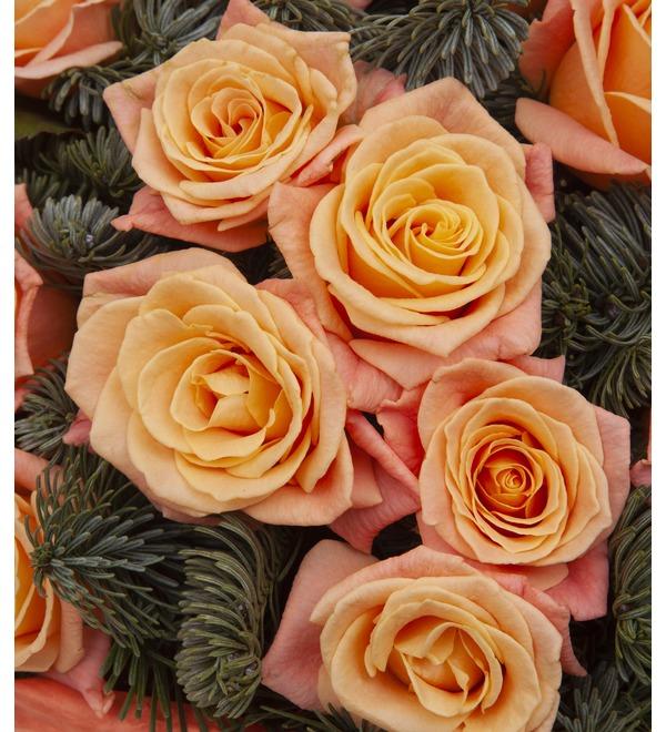 Букет-соло роз Мисс Пигги (15,25,35,51,75 или 101) – фото № 2