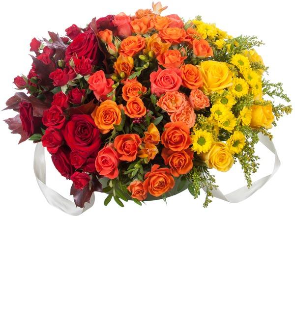 Подарочная коробка Оранжевый градиент – фото № 2