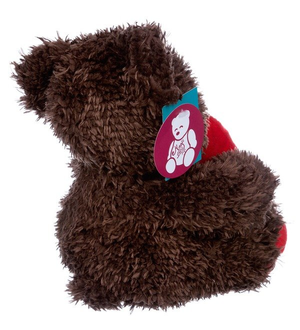 Toy Bear with heart (31 cm) – photo #3