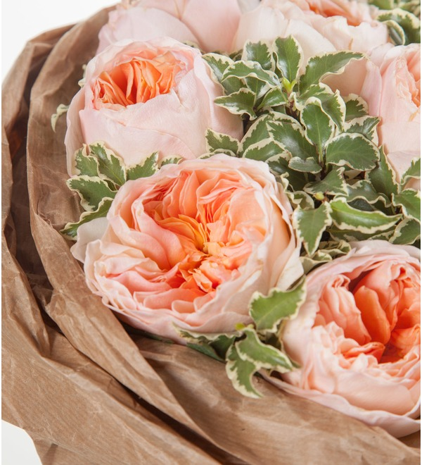 Букет из пионовидных роз Мгновение – фото № 2