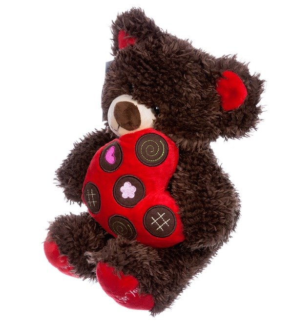 Toy Bear with heart (31 cm) – photo #2