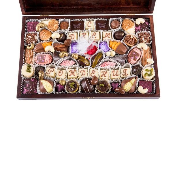 Конфеты ручной работы из бельгийского шоколада Для избранных – фото № 2