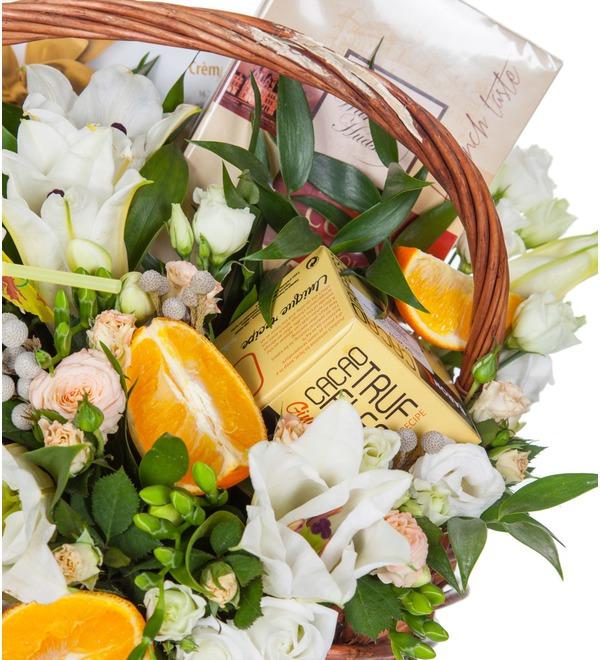 Подарочная корзина Апельсиновый фрэш – фото № 2