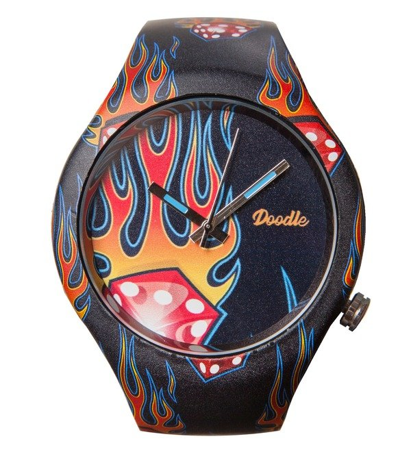 Doodle watch Flame – photo #1