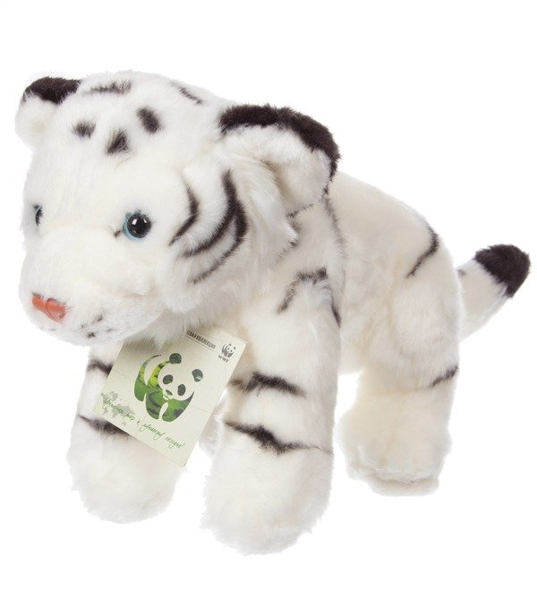 White Tiger WWF soft toy (25 cm) – photo #1