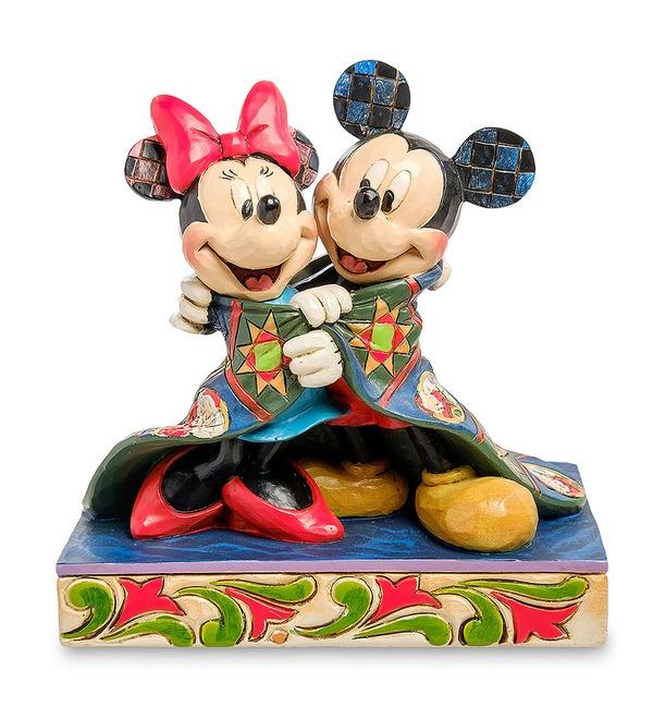 Фигурка Микки и Минни. Теплые пожелания (Disney) – фото № 1