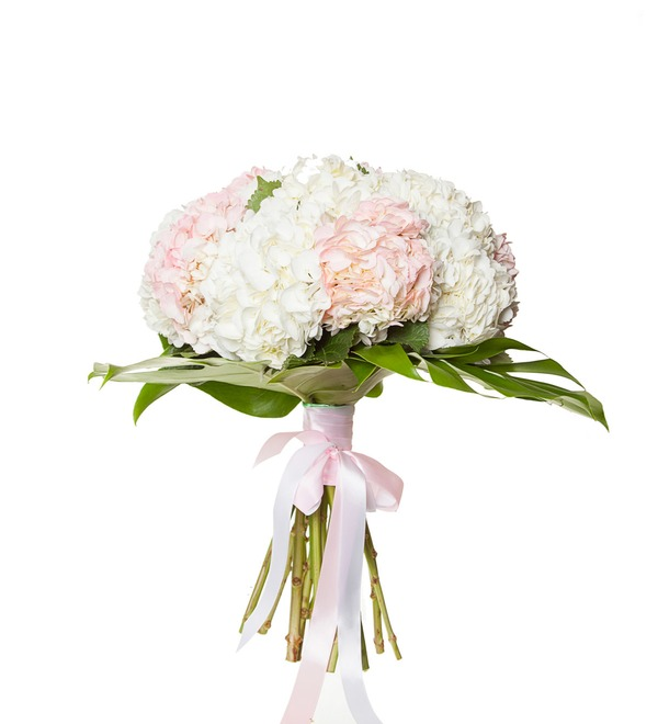 Bouquet of multi-colored hydrangeas (9, 13 or 25) – photo #4
