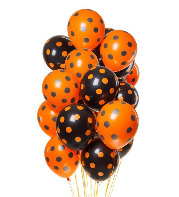 Букет шаров Осень (15 или 31 шар) – фото № 1