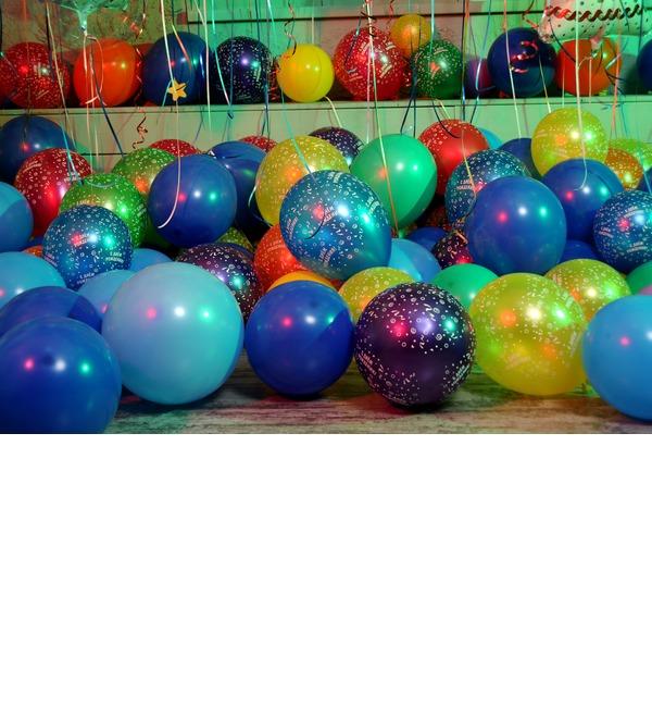 Оформление шарами С днем рождения! – фото № 3