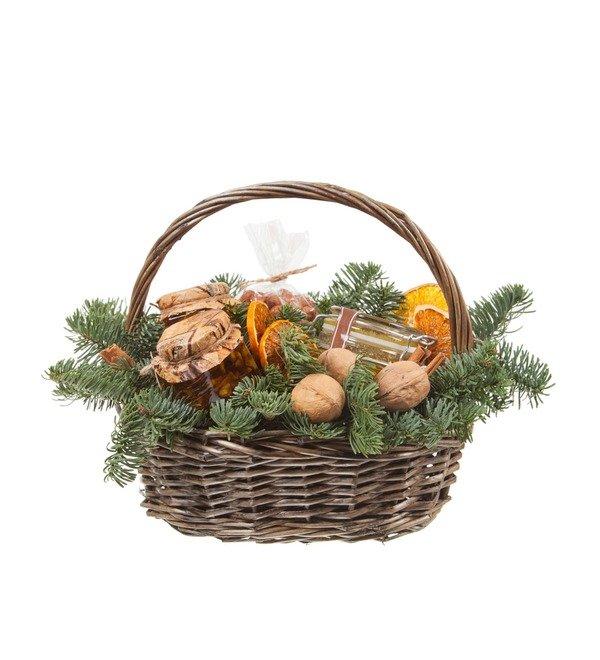 Подарочная корзина Медовые орешки – фото № 4
