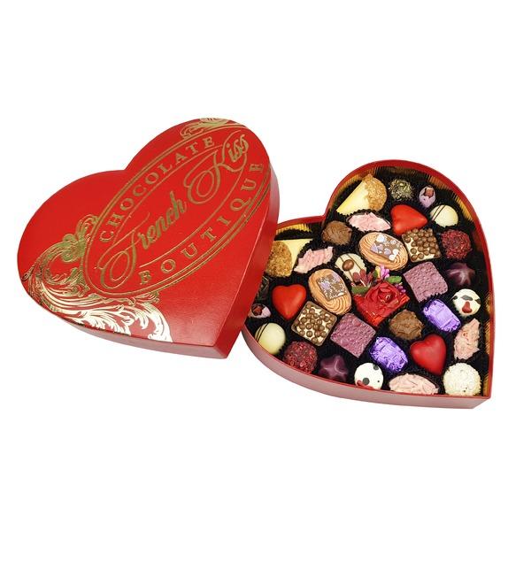 Конфеты ручной работы из бельгийского шоколада Сердце желаний – фото № 1