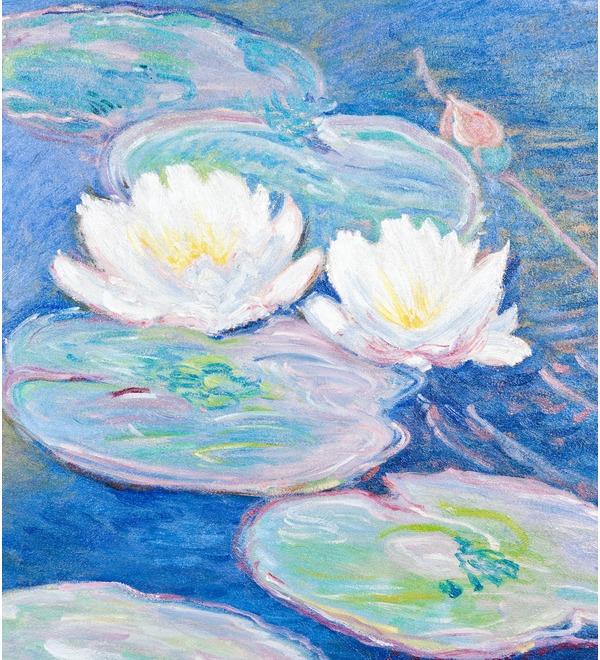 Картина К. Моне Водяные лилии (95х75см.) – фото № 4